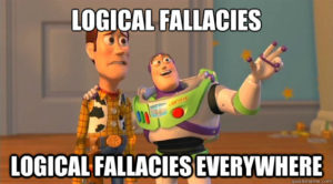 logical fallacies everywhere