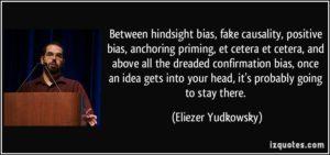 positive bias Yudkowsti